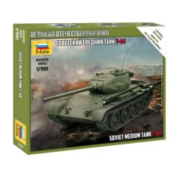 Zvezda Soviet Medium Tank T-44 makett 6238