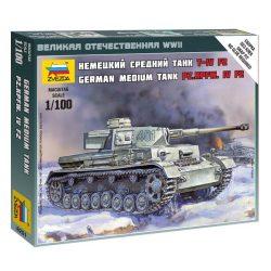 Pz.Kpfw. IV Ausf.F2 tank makett Zvezda 6251