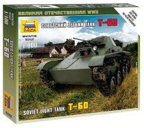 Soviet Light Tant T-60 tank makett Zvezda 6258