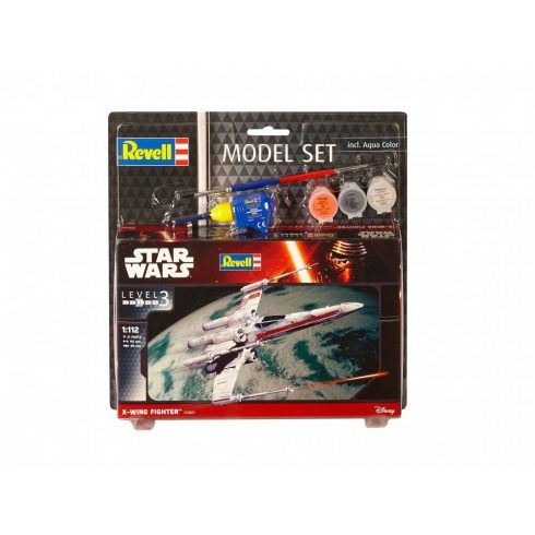 Revell Star Wars szett- X-wing Fighter makett 63601