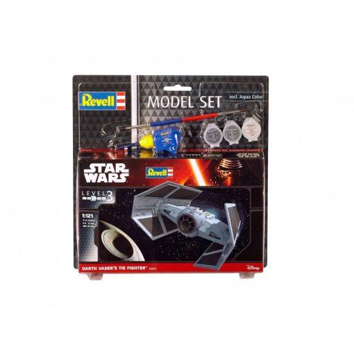 Revell Star Wars szett- Dath Vaders TIE Fighter makett 63602