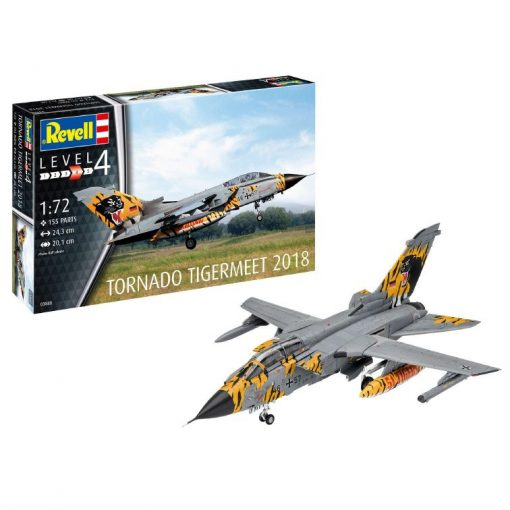 Revell modell szett Tornado ECR Tigermeet 2018 repülőgép makett 63880