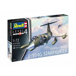 Revell Model Set F-104G Starfighter repülőgép makett 63904