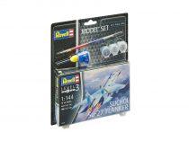 Revell Model Set Suchoi Su-27 Flanker 1:144 repülő makett 63948