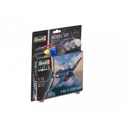 Revell Model Set F4U-4 Corsair 1:72 repülőgép makett 63955