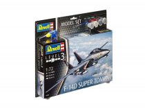 Revell Model Set F-14D Super Tomcat 1:72 repülő makett 63960