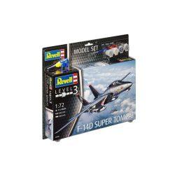 Revell Model Set F-14D Super Tomcat 1:72 repülő makett 63960