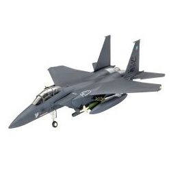 F-15E STRIKE EAGLE & bombs Revell Model Set  63972