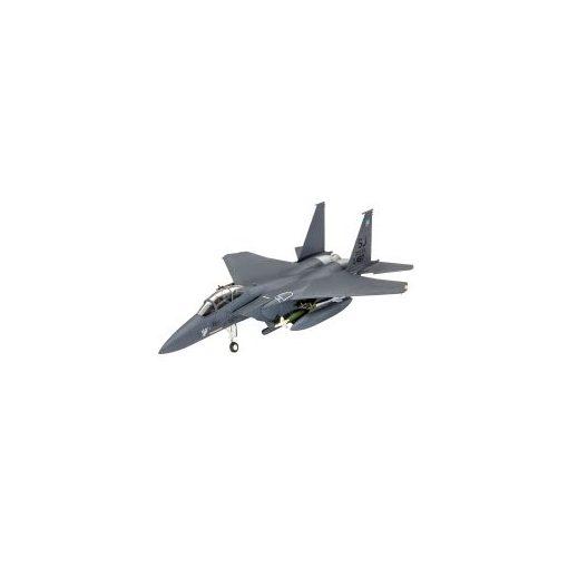 Revell Model Set F-15E STRIKE EAGLE & bombs makett 63972