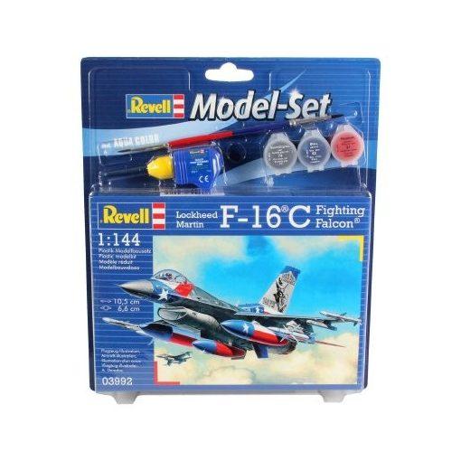 Revell Model Set - Lockheed Martin F-16C Fighting Falcon repülőgép makett 63992
