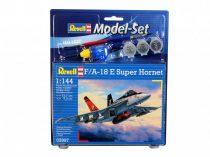 Revell Model Set F/A-18E Super Hornet katonai repülő makett revell 63997