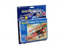 Revell Model Set - Fokker Dr. 1 Triplane repülőgép makett