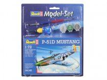 Revell Model Set P-51D Mustang katonai repülő makett revell 64148