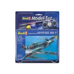 Revell Model Set Supermarine Spitfire Mk.V repülő makett revell 64164