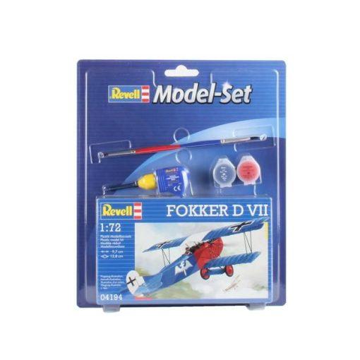Revell Model Set - Fokker D VII makett starter szett 64194