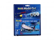 Revell Model Set Boeing 747-200 polgári repülő makett 64210