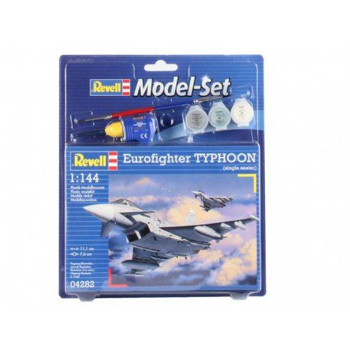 Revell Model Set Eurofighter Typhoon (Single Seater) katonai repülő makett revell 64282