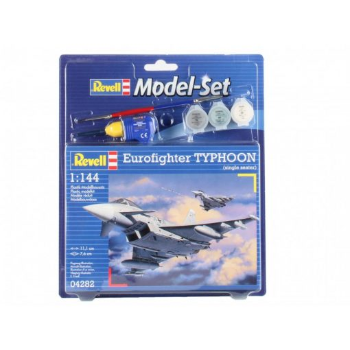 Revell Model Set Eurofighter Typhoon (Single Seater) katonai repülő makett revell 64282