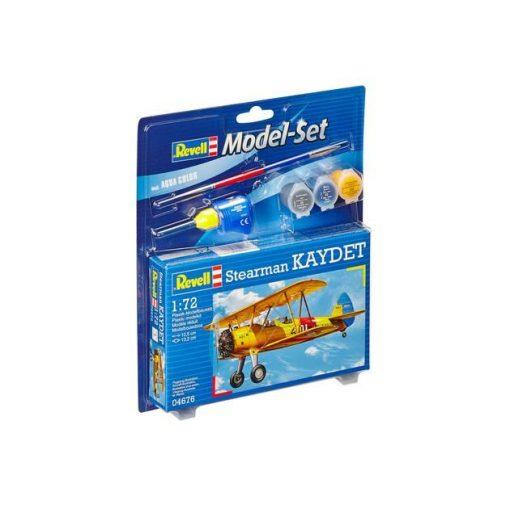 Revell Model Set Stearman Kaydet repülőgép makett 64676