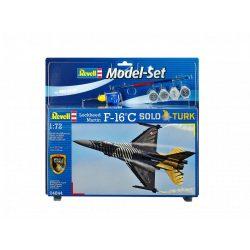 Revell Modell Set Lockheed Martin F-16 C 'Solo Türk' katonai repülő makett revell 64844