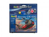 Revell Model Set Sikorsky CH-53G helikopter makett revell 64858
