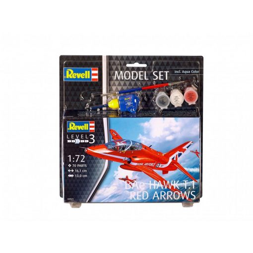 Revell Bae Hawk T-1 Red Arrows repülőgép makett 64921
