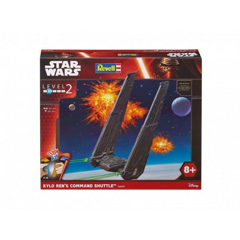 Revell EasyKit Star Wars Kylo Ren's Command Shuttle 6695