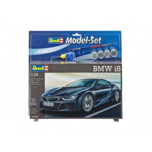 Revell BMW i8 autó makett 67008