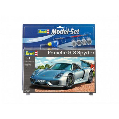 Revell Porsche 918 Spyder autó makett 67026