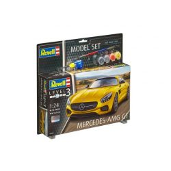 Revell Model Mercedes-AMG GT 1:24 autó makett 67028