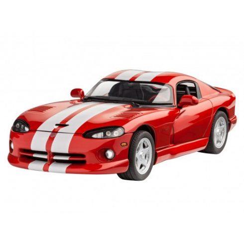 lábakon költség varázsa 100% kiváló minőség Revell modell szett Dodge Viper GTS autó makett 67040 - Makettek ...
