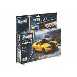 Revell Model Set 2010 Ford Mustang GT autó makett 67046