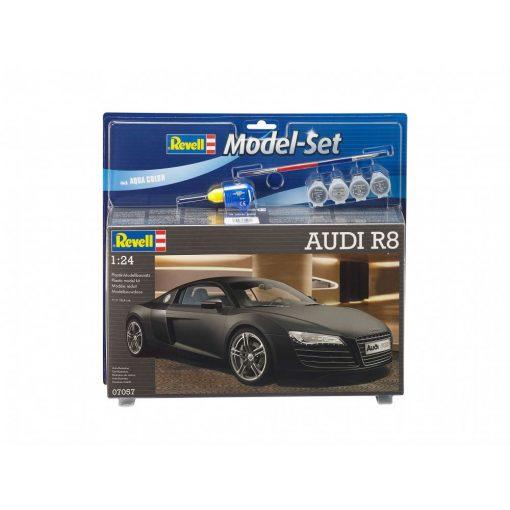 Revell Model Set AUDI R8 autó makett 67057