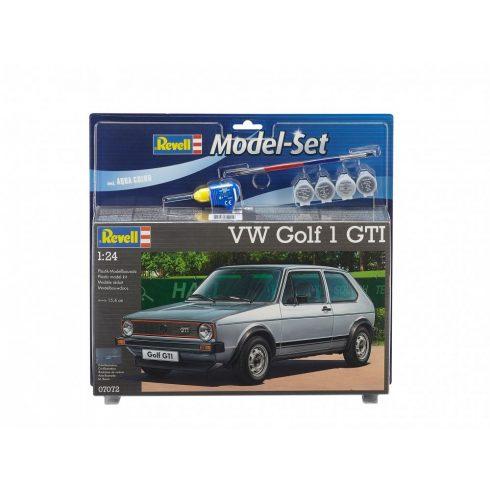 Model Set VW Golf GTi autó makett revell 67072