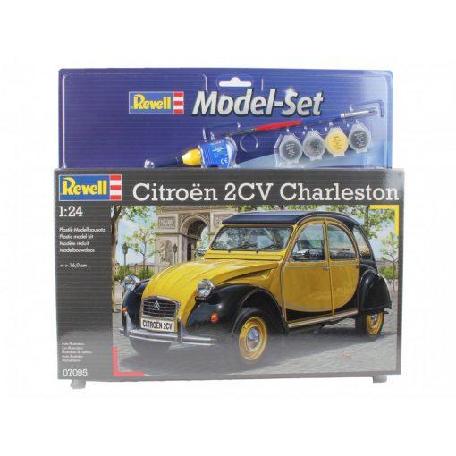 Revell Model Set Citroën 2CV Charleston autó makett revell 67095