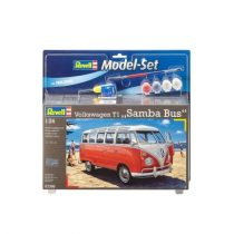 Revell Model Set VW T1 Samba Bus 1:24