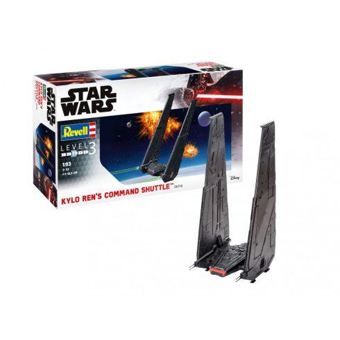 Revell Star Wars Kylo Ren's Command Shuttle makett 6746