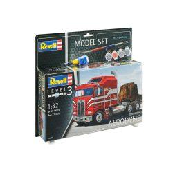 Revell Model Set Kenworth Aerodyne 1:32 kamion makett 67671