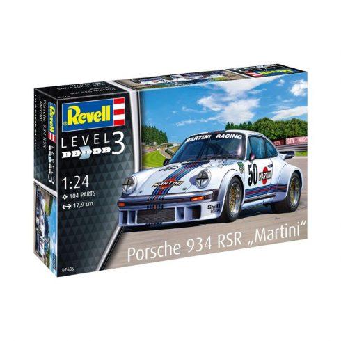 új olcsó szép olcsó jól néz ki Revell modell szett Porsche 934 RSR Martini autó makett 67685 ...