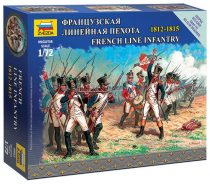 Zvezda French Line Infantry 1/72 (6802) figura makett