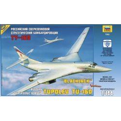 Zvezda - Tupoljev TU-160 'Blackjack' repülőgép makett 7002