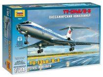Tupolev TU-134B polgári repülő makett Zvezda 7007