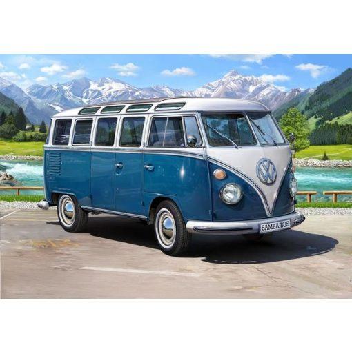 Revell - VW Typ 2 T1 Samba Bus 1:16 autó makett 7009
