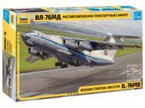 Zvezda IL-76 repülőgép makett 7011