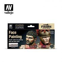 Vallejo Face Painting festék szett 70119