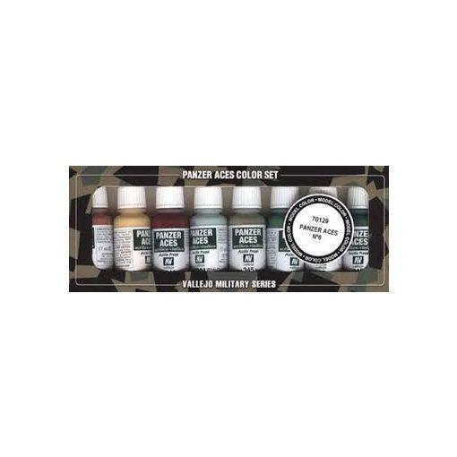 Vallejo Nº 6  - Skin, camouflage festék szett 70129