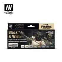 Black & White festék szett Vallejo 70151