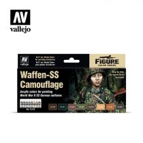 Vallejo Waffen-SS Camouflage festék szett 70180