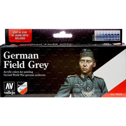Vallejo German Field Grey Uniform festék szett 70181