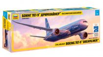 Boeing 787-9 Dreamliner - Long fuselage repülő makett Zvezda 7021